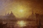 Golden Venice /85x115cm/